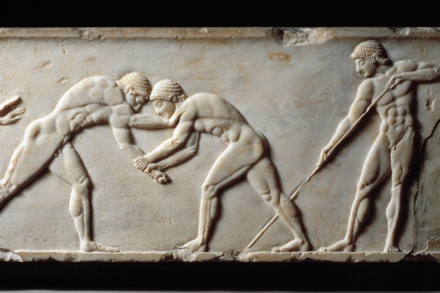 How did ancient athletes prepare for the Olympics? © Wikimedia Commons