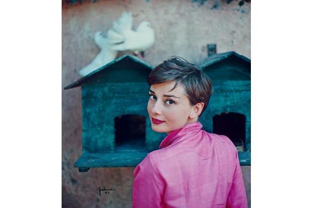 Audrey Hepburn by Philippe Halsman for LIFE magazine, 1954 © Philipe Halsman/Magnum Photos