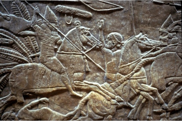 A relief of the Battle of the River Ulai, fought c653 BC © Getty Images