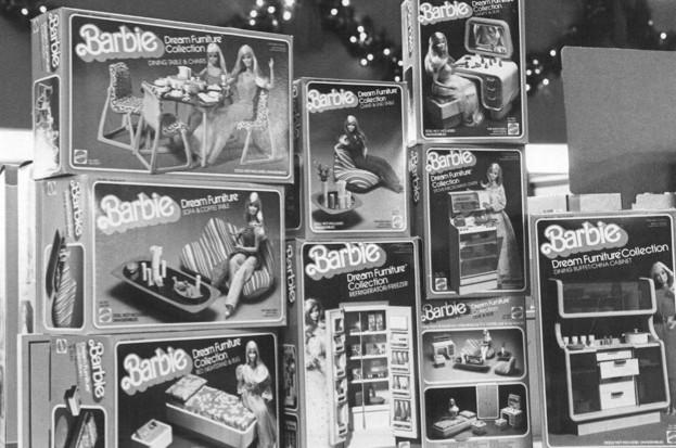 Five facts about Barbie through the ages (public domain)