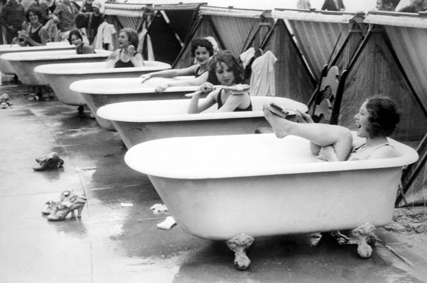 How old is bathing? © Getty Images