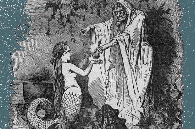 Bertall ill La Petite Sirene