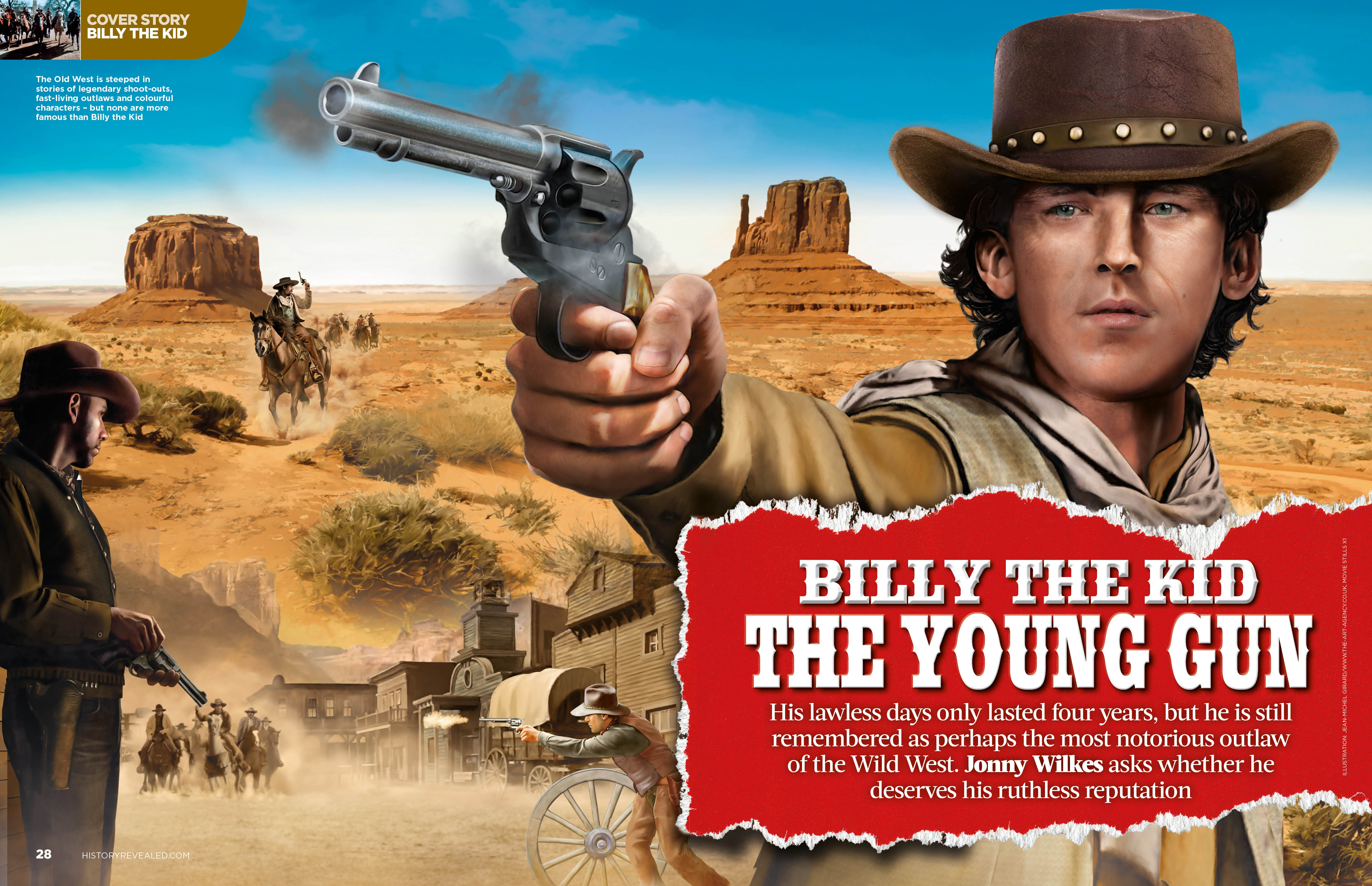 Billy the Kid - The Wild West's Most Wanted Gunslinger