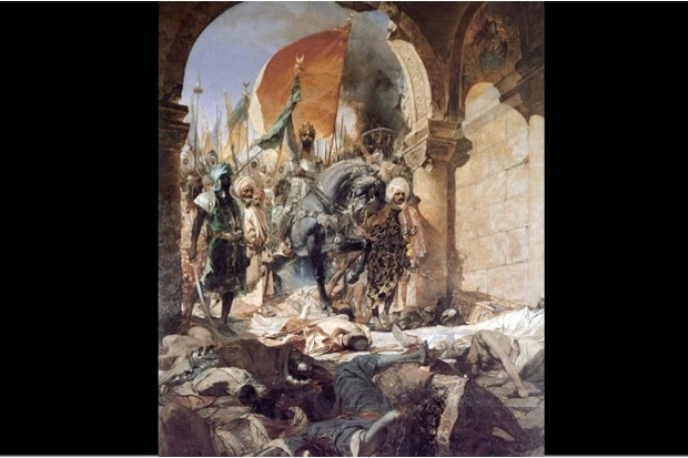 The fall of Constantinople to Mehmet II in 1453 © Getty Images