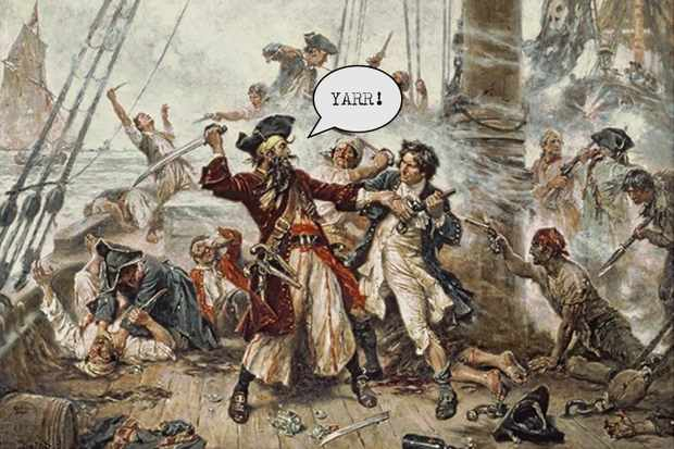 Did English pirates really talk with a West Country accent? © Wikimedia