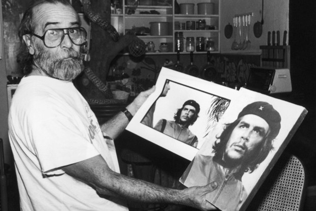Where did the famous portrait of Che Guevara come from? (public domain)