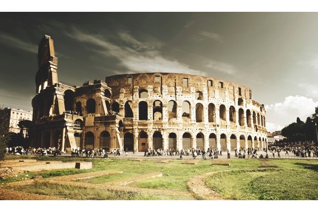 The Colosseum in Rome. © Thinkstock