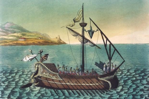 How did a crow help Rome defeat Carthage? (public domain)