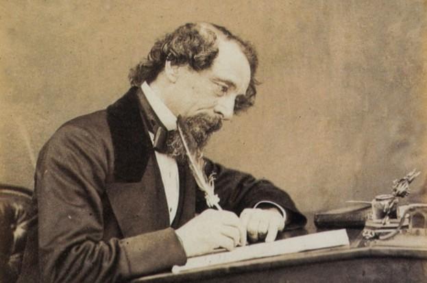 Charles Dickens and the Staplehurst rail disaster © Wikimedia Commons