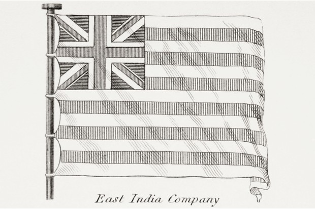 The flag of the East India Company © Getty Images