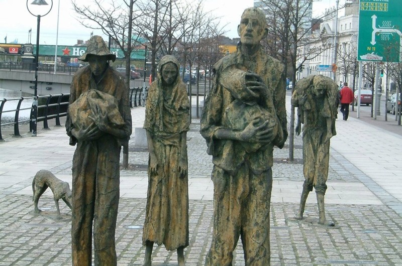 In a nutshell: the Irish Potato Famine © Getty Images