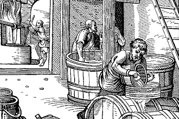 Who made the first booze? © Wikimedia Commons