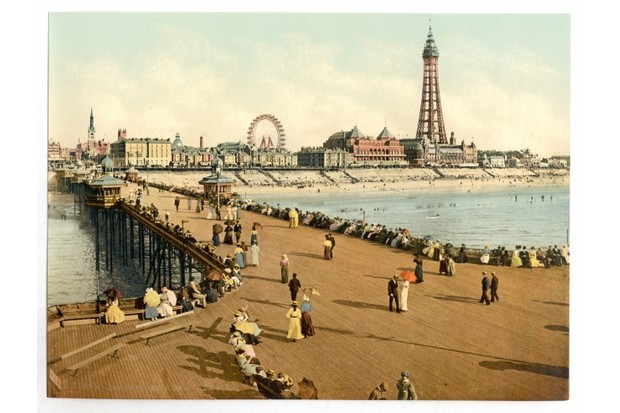 Blackpool's North Pier, circa 1900 © Getty Images