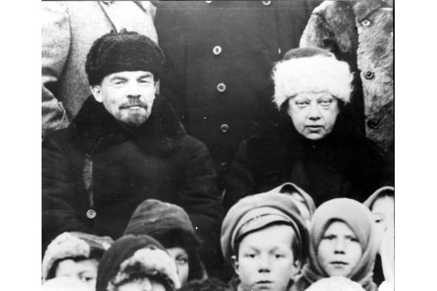 Lenin and Krupskaya © Getty Images