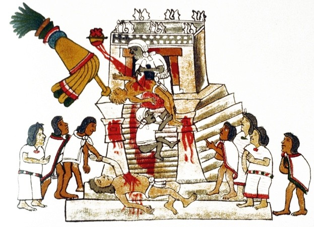 How many people did the Aztecs sacrifice? © Getty
