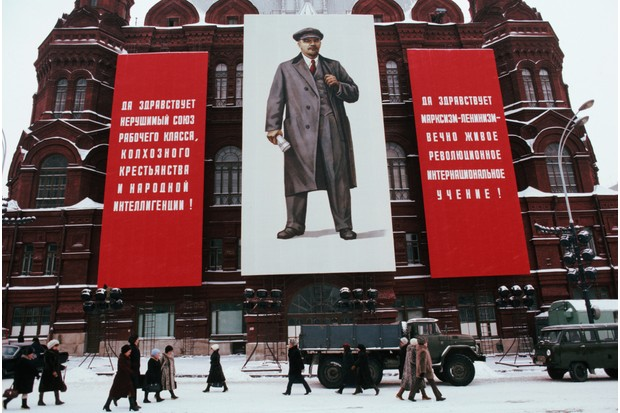 Lenin's image was everywhere in the Soviet Union © Getty Images