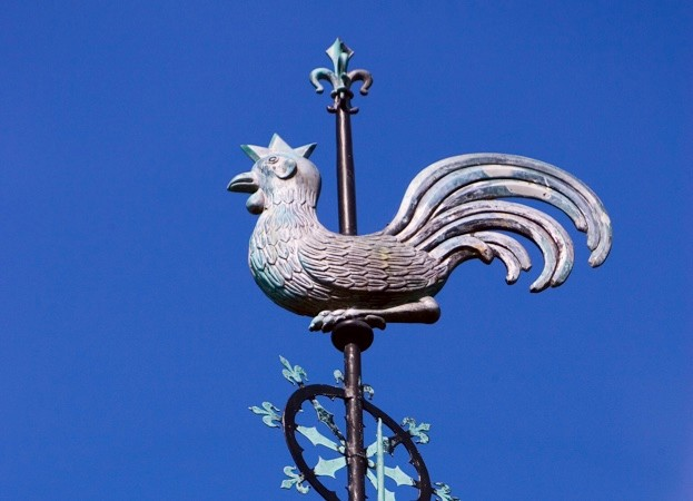 What does Jesus have to do with cockerel weather vanes? © Getty Images