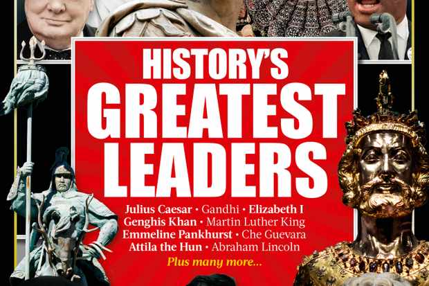 History's Greatest Leaders cover