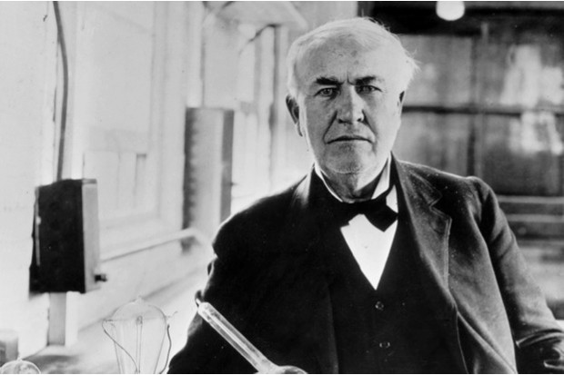 Thomas Edison, photographed in the 1910s, claimed he could end world hunger in 1878 – or did he? © Getty Images