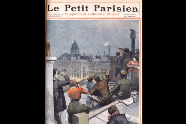 Cover of the French newspaper Le Petit Parisien to mark the 1910 passing of Halley's Comet © Getty Images