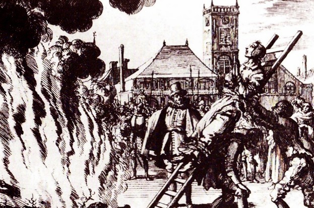In a nutshell: Spanish Inquisition (public domain)
