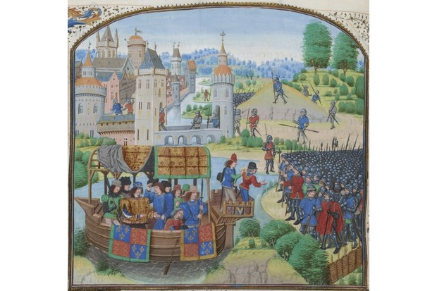 Richard II meeting with the rebels of the Peasants' Revolt © Wikimedia Commons