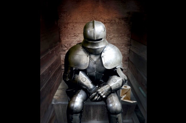 How Did Knights In Armour Go To The Toilet Historyrevealedcom