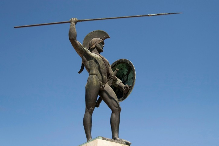 Were there really only 300 Spartans at the Battle of Thermopylae? © Getty Images