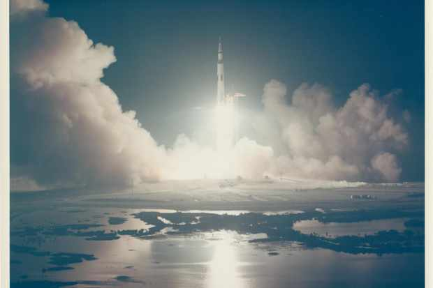 Liftoff-of-the-last-lunar-mission-Apollo-17-December-1972-Vintage-chromogenic-print-20.2-x-25.4-cm8_0-a2f9825