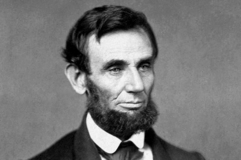 Did Abraham Lincoln's beard win him the election? (public domain)