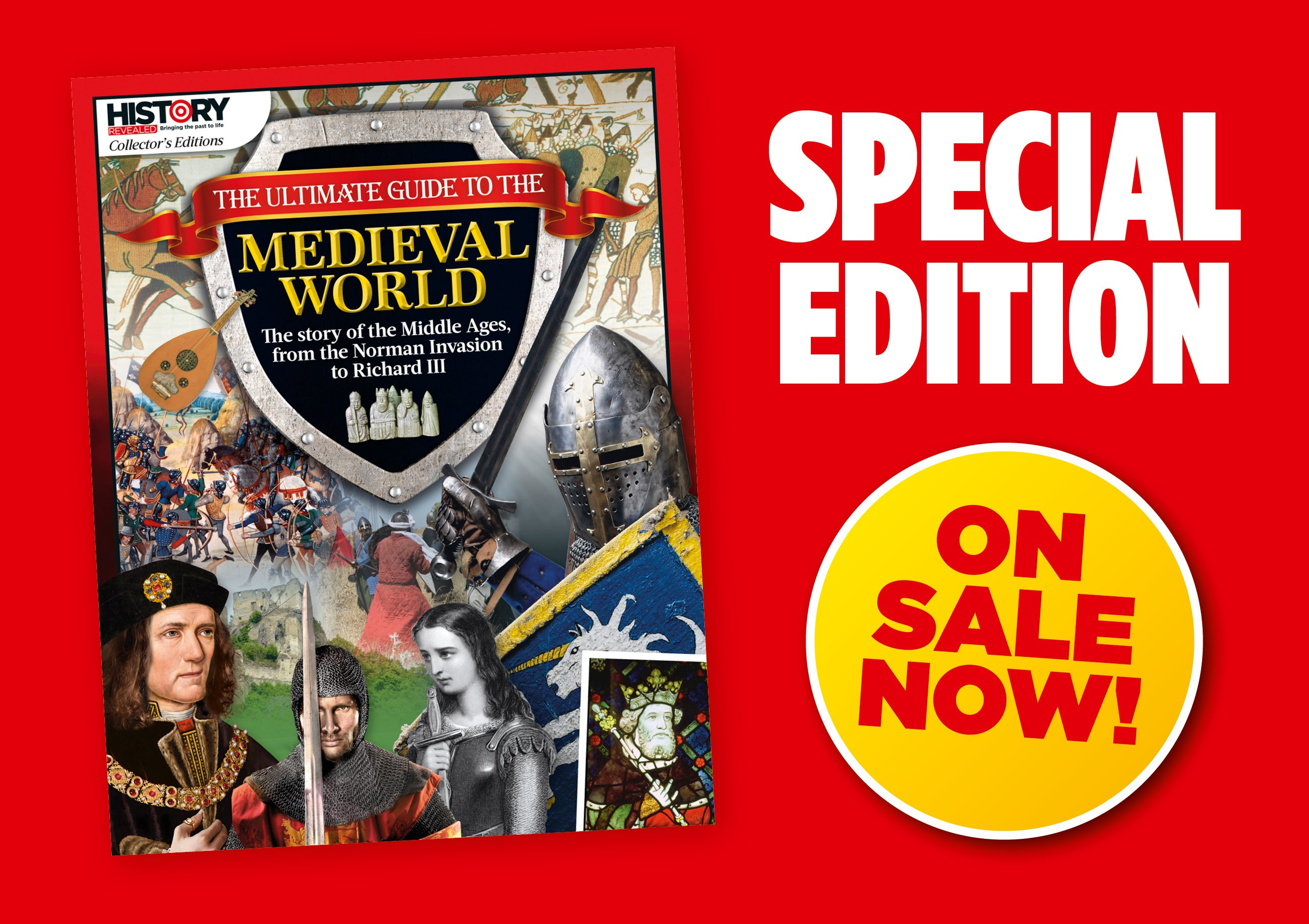 The Ultimate Guide to the Medieval World – on sale now