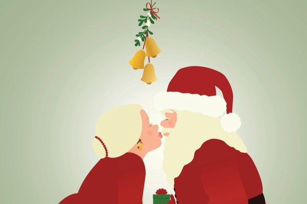 Why do we kiss under the mistletoe? © iStock