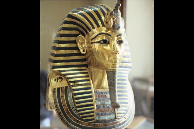 Tutankhamun's golden death mask in the Egyptian Museum, Cairo © Getty Images