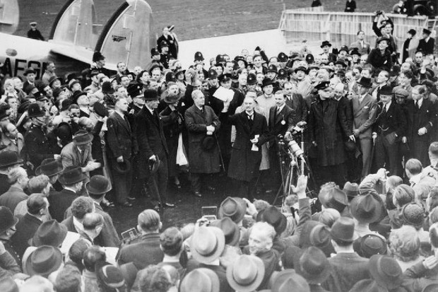 Did appeasement cause the Second World War? (Public Domain)