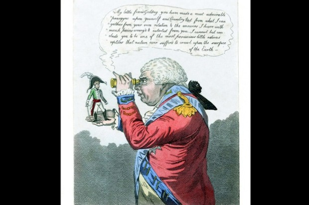 Just how tall was Napoleon? © Wikimedia Commons