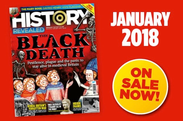 January 2018 issue of History Revealed on sale now!
