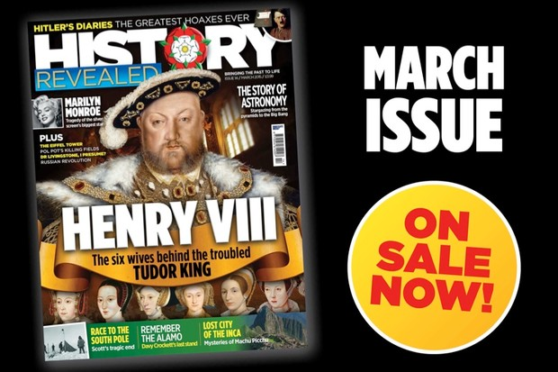 History Revealed March 2015