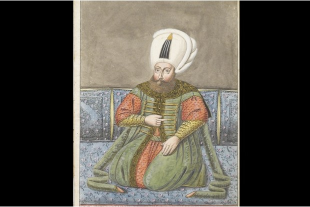 19th-century painting of Osman I, the first Ottoman emperor © Getty Images