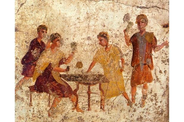 Osteria della Via di Mercurio, Pompeii © Wikimedia Commons