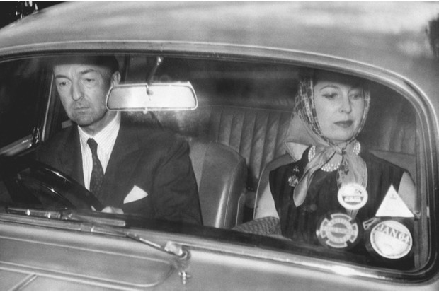 John Profumo and his wife return to their Regents Park home following the minister's resignation, 5 June 1963 © Getty Images
