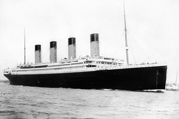 RMS Titanic sank in April 1915 after colliding with an iceberg