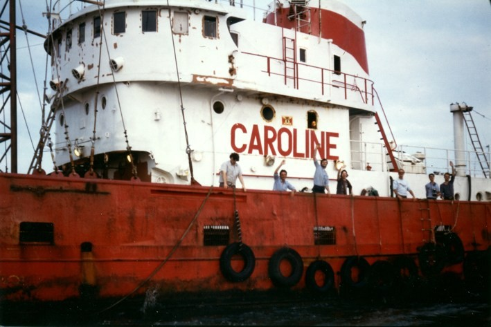 Who was the 'Caroline' in Radio Caroline?