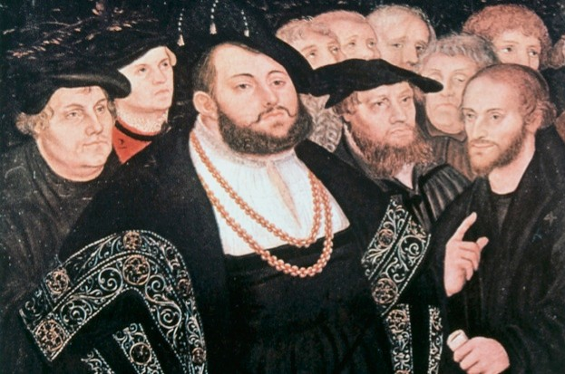 In a nutshell: the Reformation © Wikimedia Commons