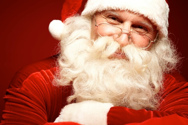 In a nutshell: Father Christmas ©iStock