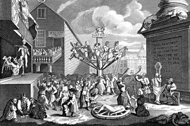 The 'bubble' that bankrupted Britain (public domain)