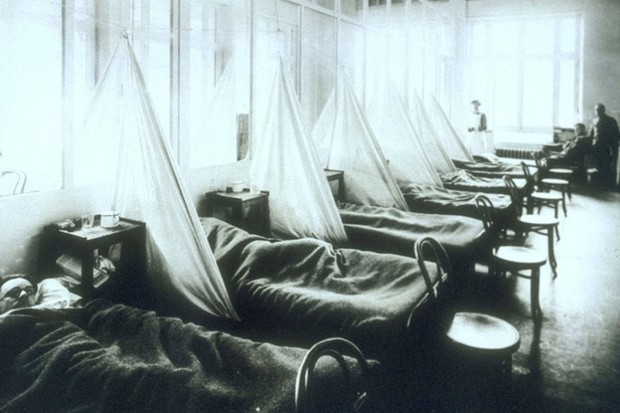 Why was the 1918-19 pandemic known as Spanish Flu? (public domain)