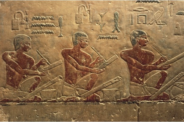 Saqqara relief of scribes, Ancient Egypt's taxmen © Getty Images
