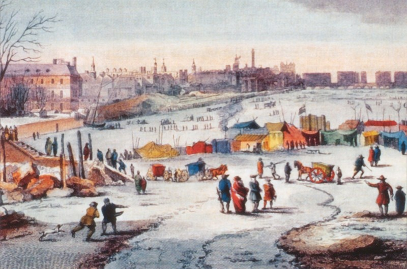 Did the Thames really used to freeze over? (public domain)