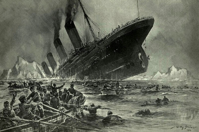 Why were so few on board the Titanic rescued? © Wikimedia Commons