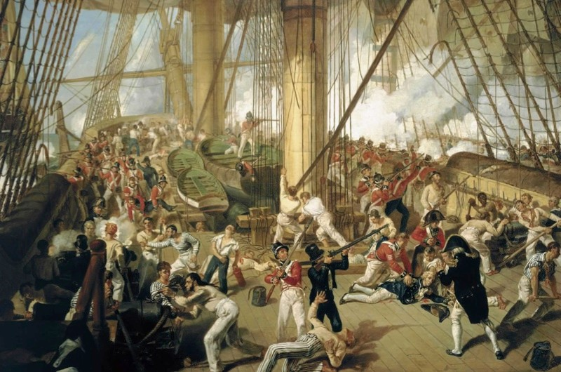 Five facts about… the Battle of Trafalgar (public domain)